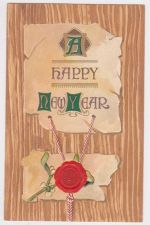 Buy New Year or New Years early 1900's Postcard #17