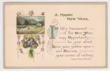 Buy New Year or New Years early 1900's Postcard #19