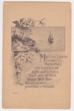 Buy New Year or New Years early 1900's Postcard #20