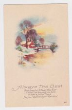 Buy New Year or New Years early 1900's Postcard #27