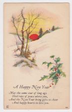 Buy New Year or New Years early 1900's Postcard #28
