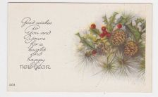Buy New Year or New Years early 1900's Postcard #30