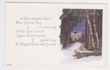 Buy New Year or New Years early 1900's Postcard #31