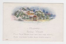 Buy New Year or New Years early 1900's Postcard #33