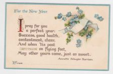 Buy New Year or New Years early 1900's Postcard #34
