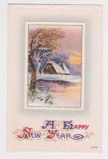 Buy New Year or New Years early 1900's Postcard #35