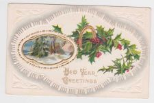 Buy New Year or New Years early 1900's Postcard #37