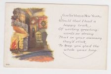 Buy New Year or New Years early 1900's Postcard #38