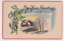 Buy New Year or New Years early 1900's Postcard #39