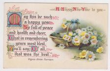 Buy New Year or New Years early 1900's Postcard #42