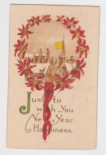 Buy New Year or New Years early 1900's Postcard #44