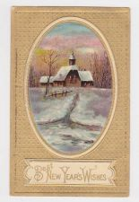 Buy New Year or New Years early 1900's Postcard #45