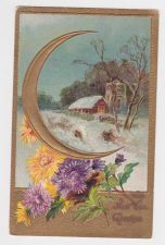 Buy New Year or New Years early 1900's Postcard #49