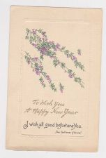 Buy New Year or New Years early 1900's Postcard #50