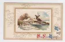 Buy New Year or New Years early 1900's Postcard by John Winsch