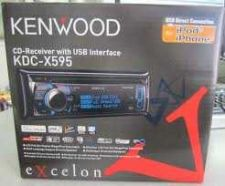 Buy BRAND NEW Kenwood eXcelon KDC-X595 Car CD/MP3 Player