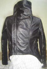 Buy NEW WOMEN'S CLASSIC LEATHER JACKET BEST DEAL(VERY SIMILAR TO RICK OWEN'S STYLE)