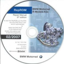 Buy BMW R 1200 Rep-ROM K2x Service Workshop Manuals (RepRom-R-5th Edition) on DVD