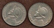 Buy Two (2) Panama 1/4 Un Cuarto De Balboa 1982 & 1983 Coins