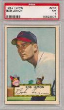 Buy 1952 Topps #268 Bob Lemon Cleveland Indians PSA 7 NM HOF