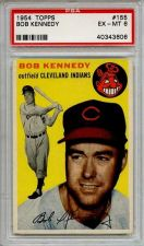 Buy 1954 Topps #155 Bob Kennedy Cleveland Indians PSA 6 EX-MT