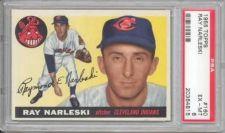 Buy 1955 Topps #160 Ray Narleski Cleveland Indians PSA 6 EX-MT