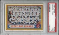 Buy 1957 Topps Baseball #275 Cleveland Indians Team PSA 7 NM Feler Lemon Wynn HOF