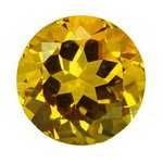 Buy 10 pcs 3 mm Round Golden Citrine in AAA Grade