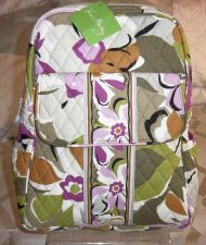 Buy New with Tags Vera Bradley Backpack in Portobello Road retired pattern