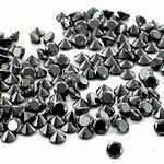 Buy 1 Carat twt. Black Diamond Lot size 1 - 2 mm