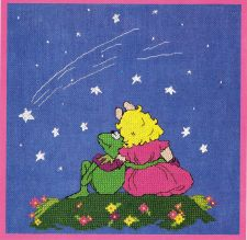 Buy Under The Stars Cross Stitch Pattern Digital Delivery