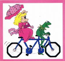 Buy Bicycle For 2 Cross Stitch Pattern Digital Delivery