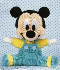 Buy Crochet baby Mickey Mouse PDF PATTERN