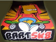 Buy Duvet Cover Twin Bed BART SIMPSONS. Barely Used.