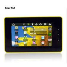 "Buy Mini M3: 4.3"" Two-Point Touch Screen 800MHz CPU +300MHZ DSP, Android 2.2 Tablet"