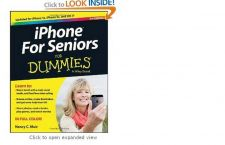 Buy iPhone For Seniors For Dummies (For Dummies (Computer/Tech)) [Paperback] Nancy C