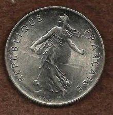 Buy French Coins, Vth Republic, 5 Francs Semeuse , 1994