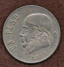 Buy Mexico 1 Peso 1971 coin