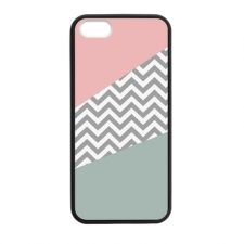 Buy NEW CORAL MINT CHEVRON APPLE IPHONE 5 5S TPU CASE COVER