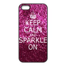 Buy NEW KEEP CALM AND SPARKLE ON DESIGN IPHONE 5 CASE COVER