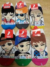 Buy EXO set of 6 socks: Kai, Chanyeol, Kris, Baekhyun, Luhan, Tao KPOP FASHION