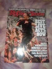Buy rolling stone magazine bruce springsteen jul-13 new
