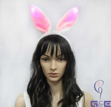 Buy Events Lighting Rabbit Ear Headband with 3 Lighting Speed Options