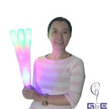 Buy 10pieces Pack LED Foam Light Stick Baton for Christmas Count-down,Birthday Party