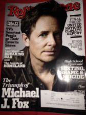 Buy rolling stone michael j fox sep-13 new