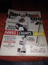 Buy sports illustrated chicago blackhawks cover oct-13 new