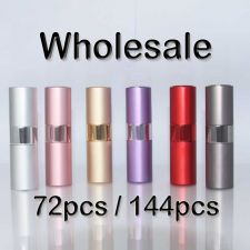 Buy Wholesale 144pcs Assorted Colors Metalic Perfume Atomizer Spray 15ml