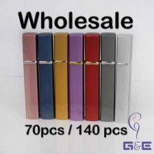 Buy Wholesale 140pcs Assorted Colors Satin-finish Surface Matalic Bottle