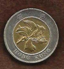 Buy Hong Kong 10 Dollars 1994 Bi Metallic Coin Bauhinia Flower