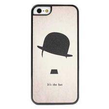Buy iPhone 5 Case, iPhone 5S Case, Slim Thin Hard Case Hat Cute Design